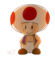 Toad by happyclonetrooper