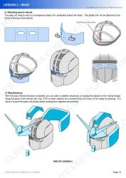 Mecha/ Gundam cosplay tutorial - Lesson 2-4 by Clivelee