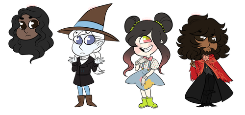 Commission batch 1 by sariasong64