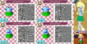 Animal Crossing: New Leaf QR Code - Derpy Hooves by MysteryMoonbeam