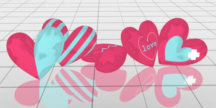 Heart Pillows DOWNLOAD by Reseliee