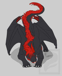 Playful dragon by FlamSlade