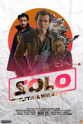 (Fanmade Poster) Solo A Star Wars Story by KeenbeetalART