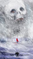 Withe Desd Storm Snow by Fenrir--the-2nd