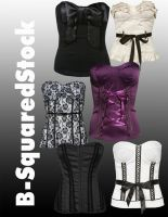 Corset Pack 1 PSD by B-SquaredStock