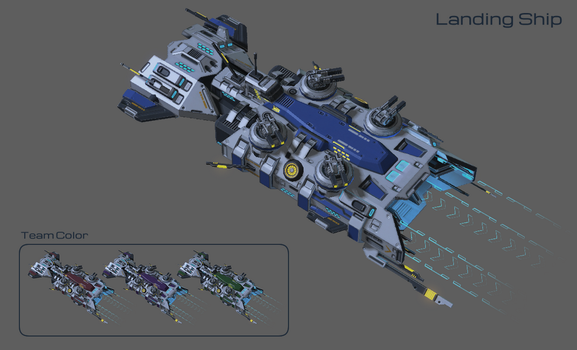 I haven't figured out the name-class Landing ship by DelphiniumKey