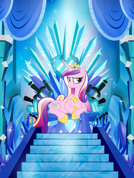 The Crystal Throne by PixelKitties