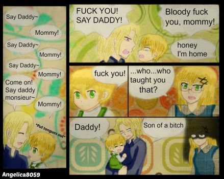 Say Daddy by florano