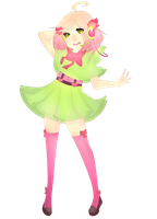 Commission Utau fullbody for corsset by sounds-like-balloons