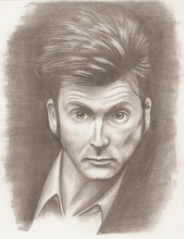 David Tennant Pencil by Orbski