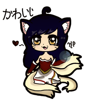 Ahri (Rendered Version) by KawaiiNyanko