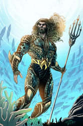 Aquaman Honolulu Comic Con Exclusive by LucianoVecchio