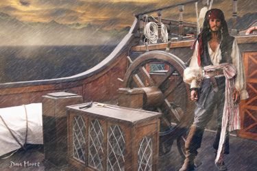 Captain Jack Sparrow by danmoore