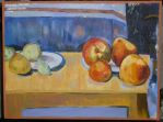 Cezanne Copy - Apples + Pears by artisticTaurean