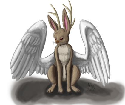 Wolpertinger by Noxkitsune