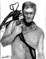 Daryl Dixon (The Walking Dead) by SavirOigres