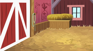 Apple Fanily Barn Interior by SteamPoweredStallion
