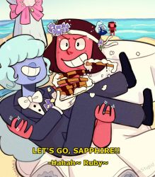 ''LET'S GO, SAPPHIRE, TAKE THE CAKE--'' by Keerrin-M