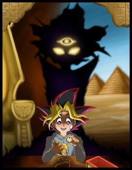 The Nameless Pharaoh Awakens by rinkunokoisuru
