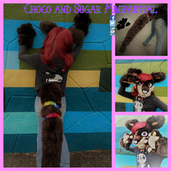 Choco and Sugar Minipartial by SamTheMoose101