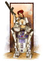 Star Wars Celebration Pinup by gregbo