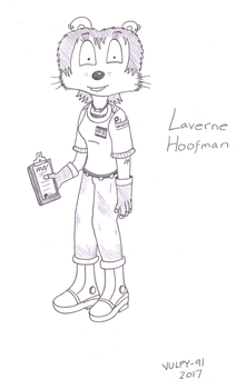 Laverne Hoofman Illustration by VulpineWarrior-91