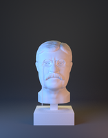 Theodore Roosevelt -3D Printable- by JoeyBlendhead