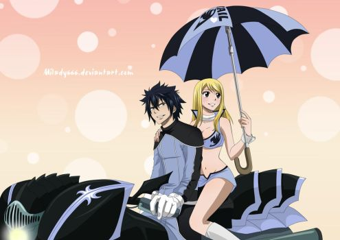 Gray x Lucy by Milady666