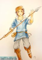 Donnel from Fire Emblem by sammich