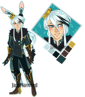 Rabbit King Adoptable Auction  CLOSED by memeavatar