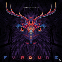 Eagle of Zeus - Album Artwork for Furdune by SylviaRitter