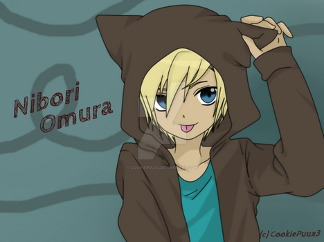 Nibori Omura - New Male RPC :3 by CookiePuux3