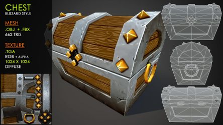 Free Chest: Blizzard style by Yughues