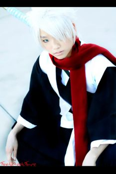 Bleach Cosplay: Hitsugaya by Akusesu