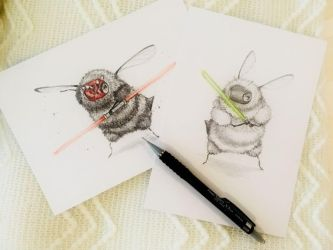 May The Force Bee With You by camilladerrico
