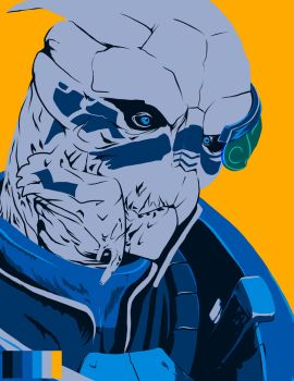 Garrus Limited Pallet by Mythtress