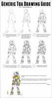 Guide to How I Draw Toa by Llortor