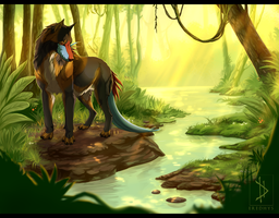 Forest Kingdom - Commission. by Eredhys