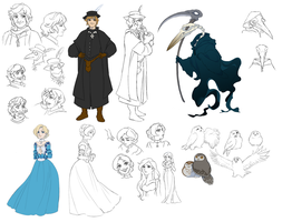 Death And The Healer Designs by Toradh
