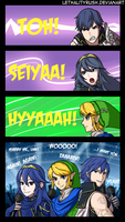 Link's Band by Lethalityrush