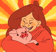 mABEL PINES by InkyFridays