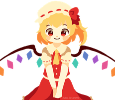 |AT| Touhou | Flan-chan by Judas-la-Carotte