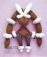 Pokemon: Mega Lopunny by sugarstitch