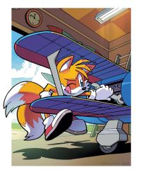 Tails Prower (Coloring Commission) by herms85