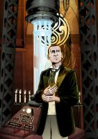 Ninth Doctor Regeneration by MikeMcelwee