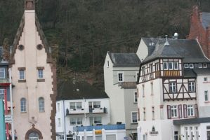 houses in Traben-Trarbach by ingeline-art