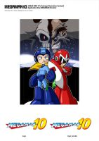 megaman boxart contest by rongs1234