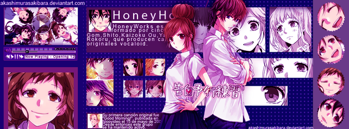 Honey Works by AKASHIMURASAKIBARA