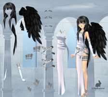 Pack Sucrette Angel Guardian by WeenyLegia