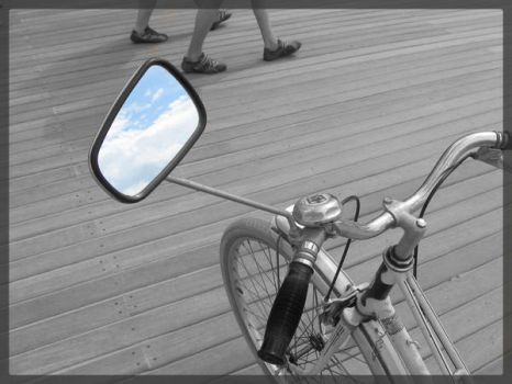 Bike and Sky by Babillages